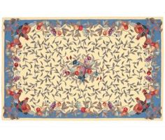 Pierre Deux fruit rug Country Rugs, French Provincial, Design Bedroom, Cottage Style, French Country, Decorating Ideas, Interiors, Interior Design, Fruit