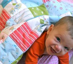 Easy DIY Baby Quilt in a day!