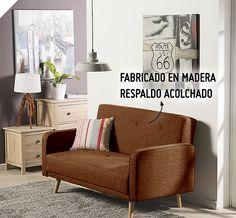 ¿Quieres un ambiente vintage? Entonces este sofá retro es perfecto para tu hogar #Sodimac #Homecenter.