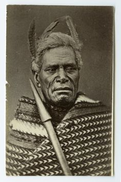 Carte de visite portrait of Maori man taken ca by American Photographic Company of Auckland. Maori Face Tattoo, Ta Moko Tattoo, Aboriginal People, Aboriginal Art, Maori Tribe, Polynesian People, Maori People, Tribal Warrior, Maori Tattoo Designs