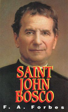 St. John Bosco... in my home catholic library!