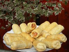 Hot Dog Buns, Hot Dogs, Paleo, Food And Drink, Bread, Cheese, Recipes, Finger Food, Brot