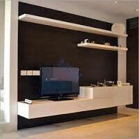 dreams4home tv lowboard 39 trojis 39 tv schrank tv tisch. Black Bedroom Furniture Sets. Home Design Ideas