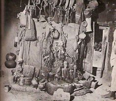 Congo, Art Premier, Witch Doctor, Old Photography, Guinea Bissau, Sculpture, Statue, East Africa, Tribal Art