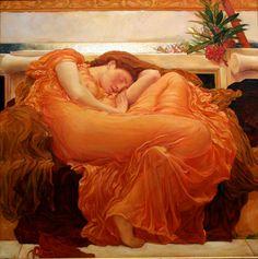 Junio ardiente (1898). Frederic Leighton
