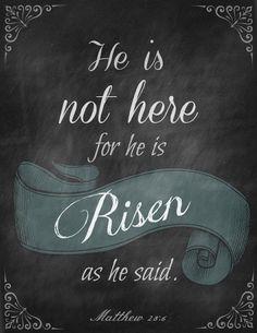 Matthew 28:6 Indeed!