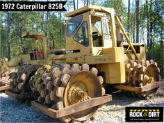#ThrowbackThursday Check out this 1972 #Caterpillar 825B #Compactor! View more Compaction Equipment at http://www.rockanddirt.com/equipment-for-sale/compaction-equipment #ConstructionEquipment #Construction #HeavyEquipment #RockandDirt