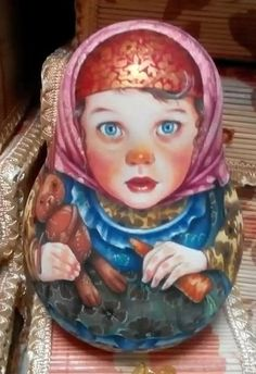 US $60.00 New in Dolls & Bears, Dolls, By TypeRussian Matryoshka Russian Nesting DollsArt Ideas Home Nature More Pins Like This At FOSTERGINGER @ Pinterest