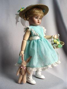 Bleuette's Easter Dress by House-of-Bleus