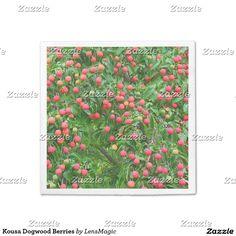 Kousa Dogwood Berries Paper Napkin