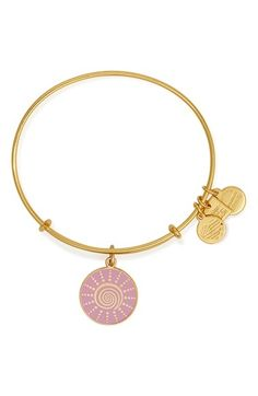 Alex and Ani 'Spiral Sun' Expandable Wire Bangle