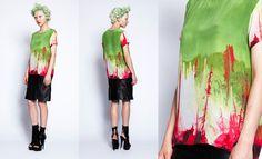 Pines Silk Tee Shirt, The Miraculous Mundane, Romance Was Born SS12/13 collection. http://www.theflyingroom.com/blogs/news/6433502-trendspotting-ss12-13-prints-down-under