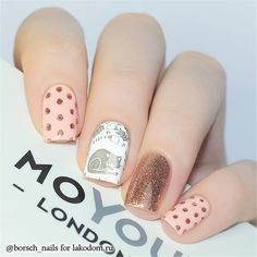 The idea of 92 exquisite nails♡💅 - Page 25 of 92 - Inspiration Diary Love Nails, Pretty Nails, My Nails, Nail Deco, Cute Nail Polish, Watermelon Nails, London Nails, Modern Nails, Manicure E Pedicure