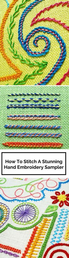 How To Show Off Your Stitching With A Stunning Embroidery Sampler