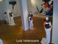 Luis Valenzuela collection inspired by Jean Miotte paintings at Chelsea Art Museum NYC #valenzuelausa LuisValenzuelaUSA.com