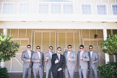 groomsmen, groom, sunglasses, wedding