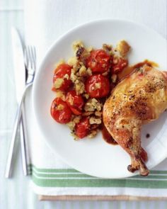 Chicken stuffed with tomato basil and mozzarella.. Did with boneless skinless chicken breast. Perfect.