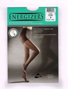 Silks Energizers Con/Top Pantyhose Firm Support Opaque Leg/Reinforced Toe