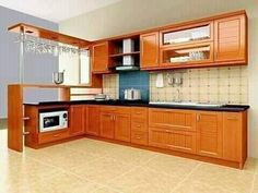 Brown Kitchen Designs, Kitchen Design Open, Best Kitchen Designs, Kitchen Cabinet Design, Open Kitchen, Country Kitchen, Kitchen Models, Kitchen Sets, Kitchen Decor