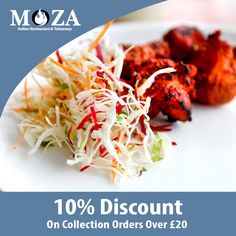 Moza Indian Restaurant and Takeaway offers delicious Indian Food in Bury Saint Edmunds, Ipswich Browse takeaway menu and place your order with ChefOnline. You can pay via cash. Indian Food Delivery, Restaurant Indian, Order Takeaway, Indian Food Recipes, Ethnic Recipes, Food Items, Tandoori Chicken, A Table, Dinner Recipes