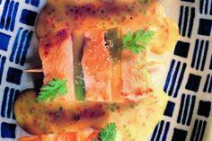 Brochettes de poulet au curry par Joël Robuchon