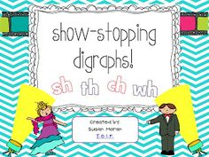 Showstoppin' Digraphs! {and a bundle}