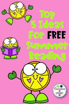 Our Top 5 Ideas for FREE Summer Reading will keep your elementary students reading and learning all summer long! They will especially enjoy #4! Reading Centers, Reading Activities, Reading Skills, Free Summer, Summer Fun, Read To Self, Phonics Words, Summer Reading Program, Reading Intervention