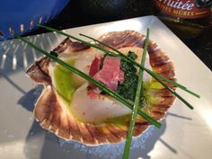 Coquilles saint-Jacques on Pinterest | Scallops, Cuisine and Legumes