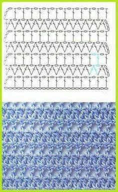 FREE Stitch pattern (Crochet) - Pinned by intheloopcrafts.blogspot.co.uk