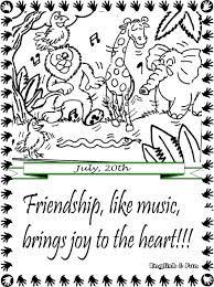 Friendship day printable cards