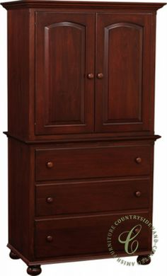 Luellen Chest on Chest - Traditional Bedroom Furniture