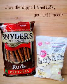 Make it, Bake it, Create it: {DIY: Party Food} Chocolate Dipped Pringles 'n Pretzels (How-To)