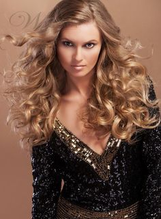 150% Hair Density Beautiful New Fashion Elegant Long Curly  Lace Wig 100% Real Human Hair 20 Inches