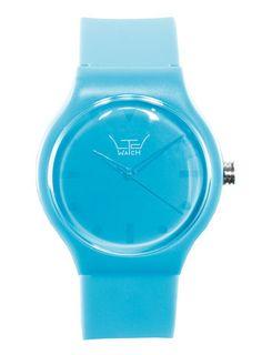 LTD turquoise watch* @ topman.com