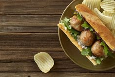 Foster Farms Recipe: Chicken Sage Meatball Sandwich with Fig Chutney