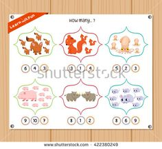Find Counting Object Kids Education Worksheet stock images in HD and millions of other royalty-free stock photos, illustrations and vectors in the Shutterstock collection. Kids Education, Counting, Worksheets, Royalty Free Stock Photos, Objects, Kids Rugs, Illustration, Fun, Early Education
