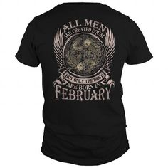 I Love BORN IN FEBRUARY - PISCES T shirts