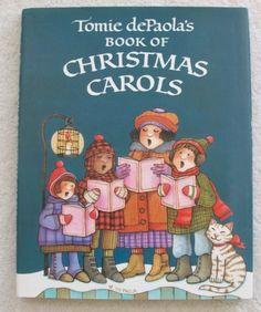 Tomie dePaola's Book Of Christmas Carols: Tomie dePaola: 9780399214325: Amazon.com: Books