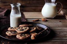 Honey Chocolate Chunk Cookies by pastryaffair, via Flickr
