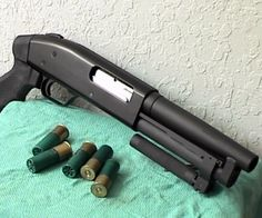 SThe Super Shorty Shotgun is based on a Mossberg Maverick and, at an additional cost, is also available in models Mossberg Remington and Lil' Kim. Factory-fabricated with a pistol grip, the Super Shorty is a member of the AOW categoryuper Shorty Shotgun Tactical Shotgun, Tactical Gear, Tactical Equipment, Weapons Guns, Guns And Ammo, Home Protection, Home Defense, Cool Guns, Firearms