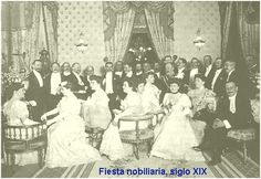 nesta fotografía podemos ver unha foto nobiliaria do século lXIX