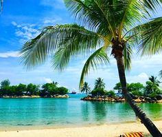 Paradise found @ Sentosa Beach Singapore