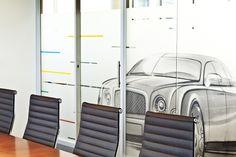www.liaisonconcept.com | Audi & Volkswagen Finance - panneaux vitrés - Liaison Concept Volkswagen, Audi, Finance, Mirror, Furniture, Home Decor, Sign, Decoration Home, Room Decor