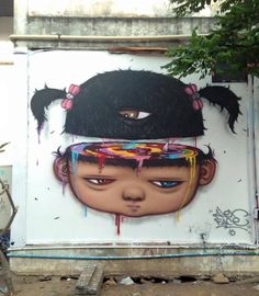 Alex Face #streetartist #streetart #artist #art