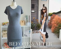 robe trop petite Astuce : retailler une robe trop petite