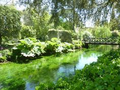 The Garden of Ninfa, Italy
