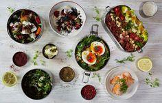 Weekday Breakfast Salad Spreads - Baliboosta