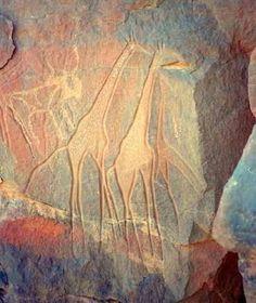 Libya, Acacus Mountains Rock Art
