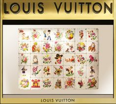 Louis Vuitton presents the first art collaboration for Middle East windows with renowned Iranian artist Farhad Moshiri
