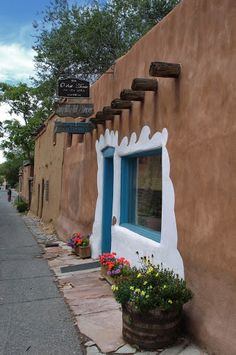 The Oldest House in the USA. Santa Fe, New Mexico. Photo by Andy New.
